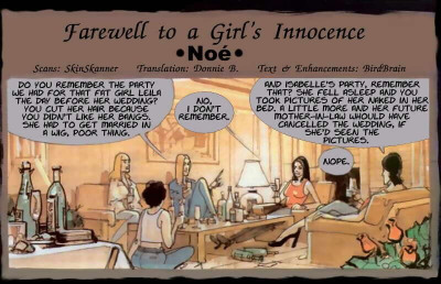 Farewell to a Girls Innocence